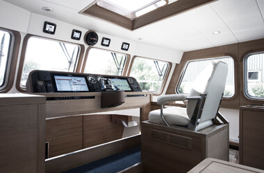 Control Room Korvet 14 CLR | Deep Water Yachts Holland