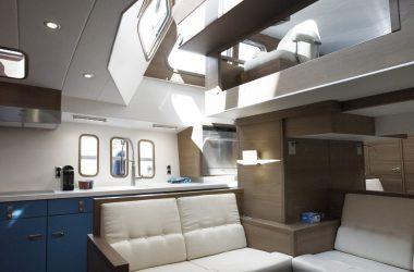Interior 1 Korvet Series | Aluminium Motor Yachts Deep Water Yachts