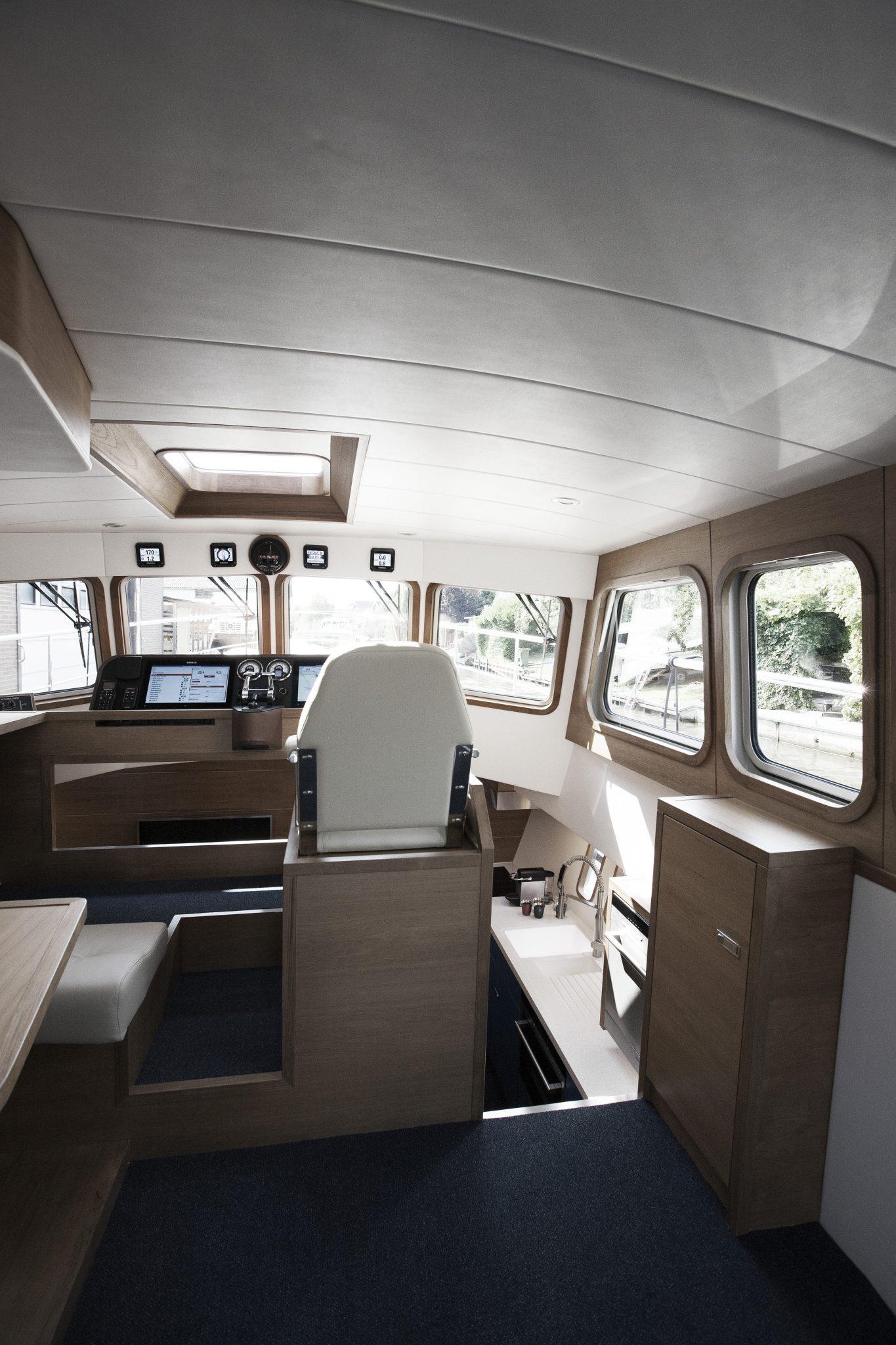 Luxury Yacht Engine Room