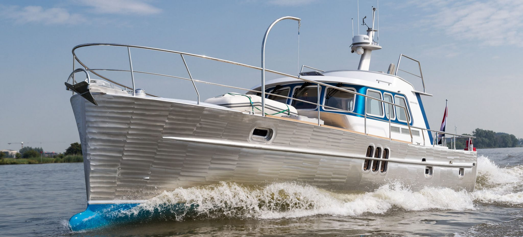 Luxury motor yachts for sale | Deep Water Yachts Holland | Korvet 14