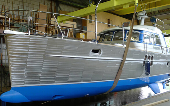 Building Your Yacht | See the Building Process of the Korvet 14 | Holland Boat