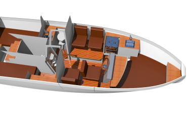 Design Process Deep Water Aluminium Boat | Holland Boat Korvet 8 Interior Look