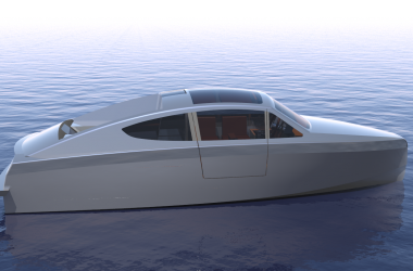 Exterior Korvet 8 Design Process Deep Water Aluminium Boat | Holland Boat
