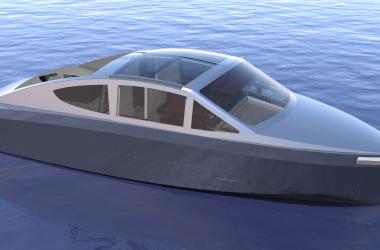 Korvet 8 GTLC Exterior Design Process Deep Water Aluminium Boat | Holland Boat