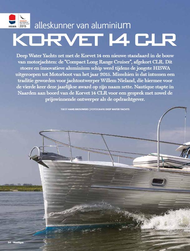 Deep Water Yachts Korvet 14 New Standard