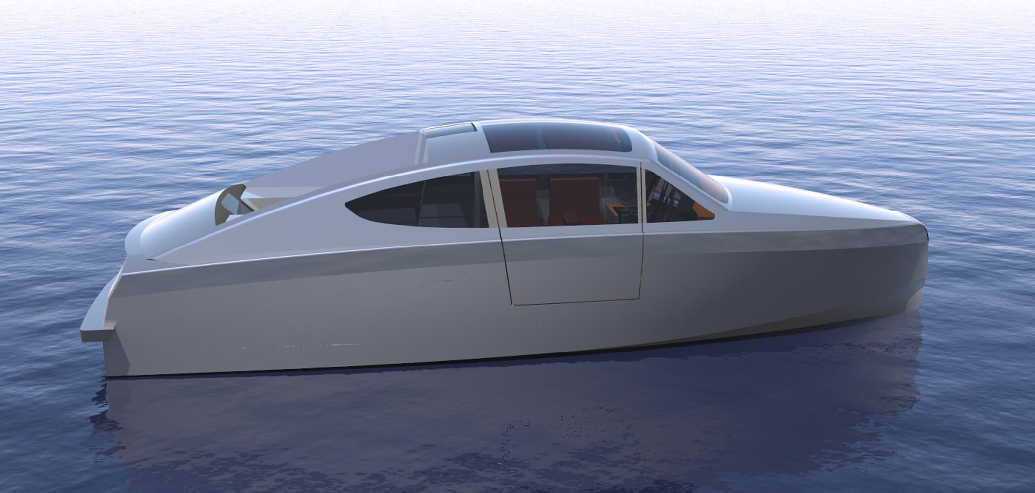 Design Process Deep Water Aluminium Boat | Holland Boat Korvet 8GLS
