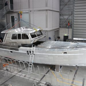 Buy a luxury motor yacht | Building Process | Deep Water Yachts Holland