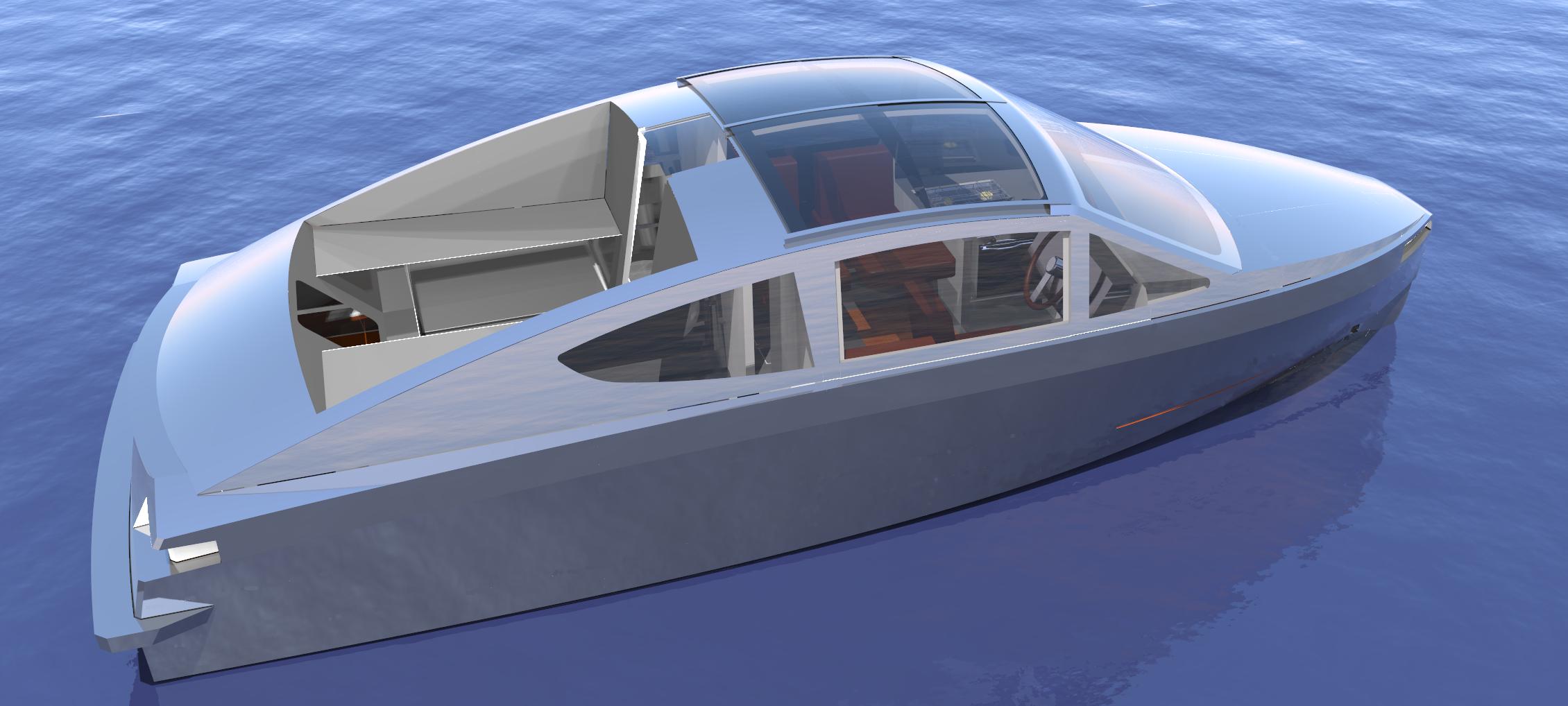 Dutch Aluminium Yacht Design