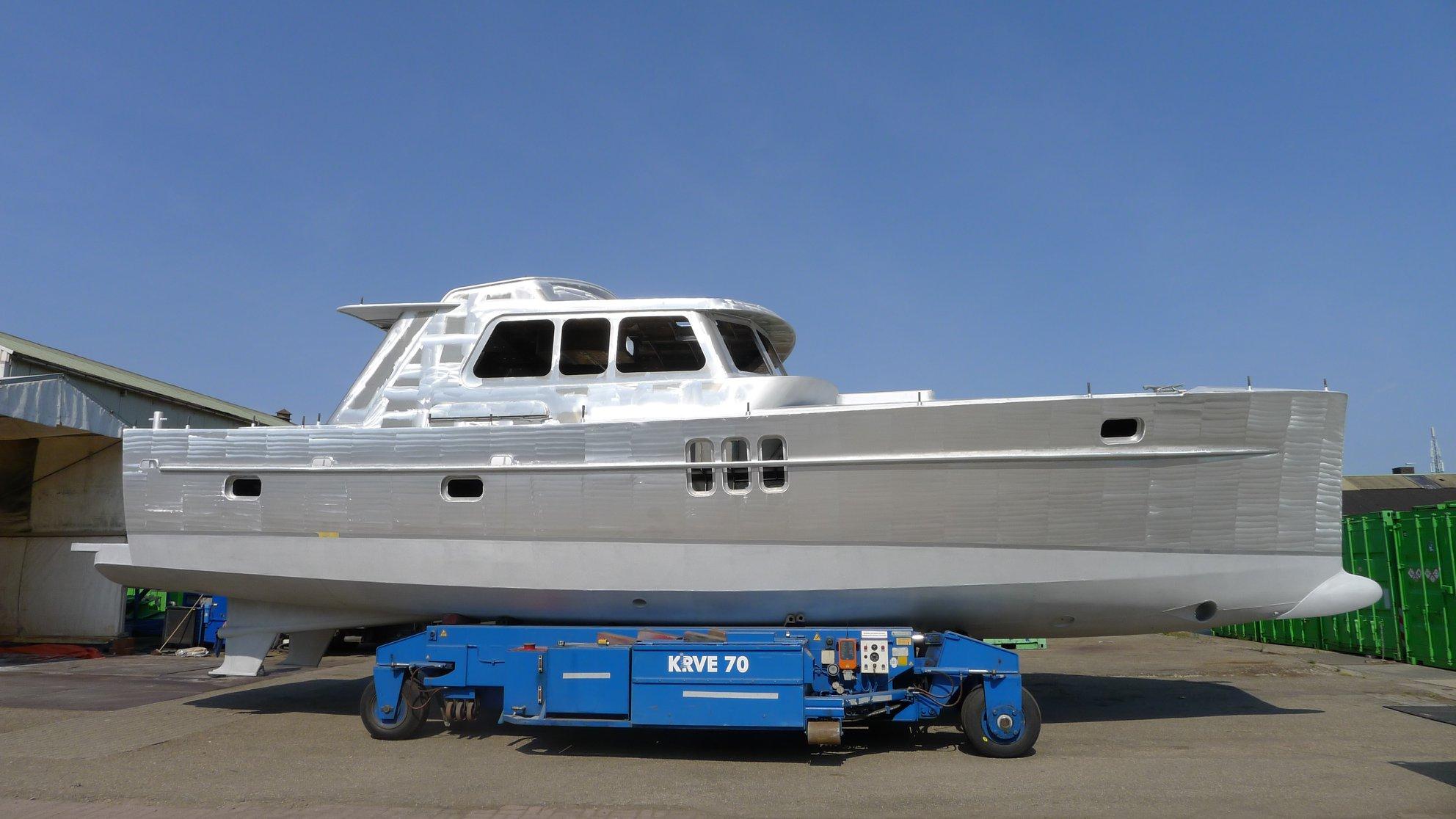 Aluminium motor boat for sale